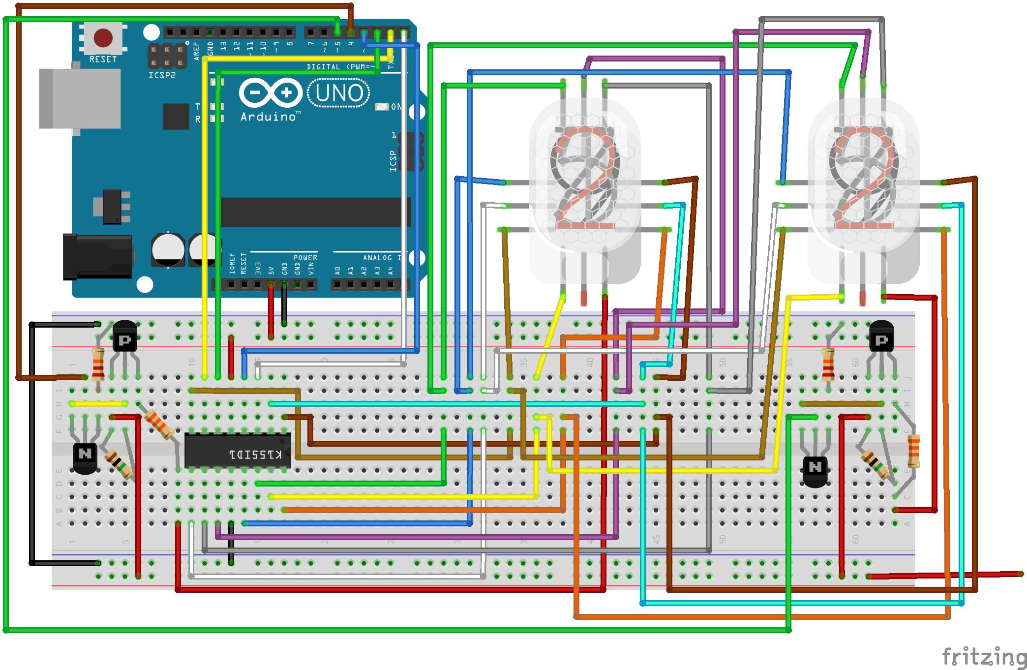 Nixie Power Supply with 5V USB inputBot Blog